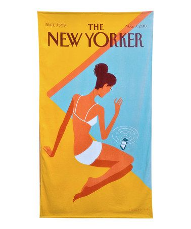 Take a look at this Dropped Call New Yorker Beach Towel by Presidential Suites on #zulily today!
