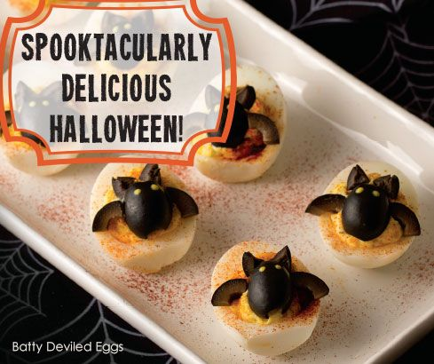 Host a spooktacularly delicious party with our Halloween special occasion assortment - scrumptious products and recipes for seven yummy Halloween treats.
