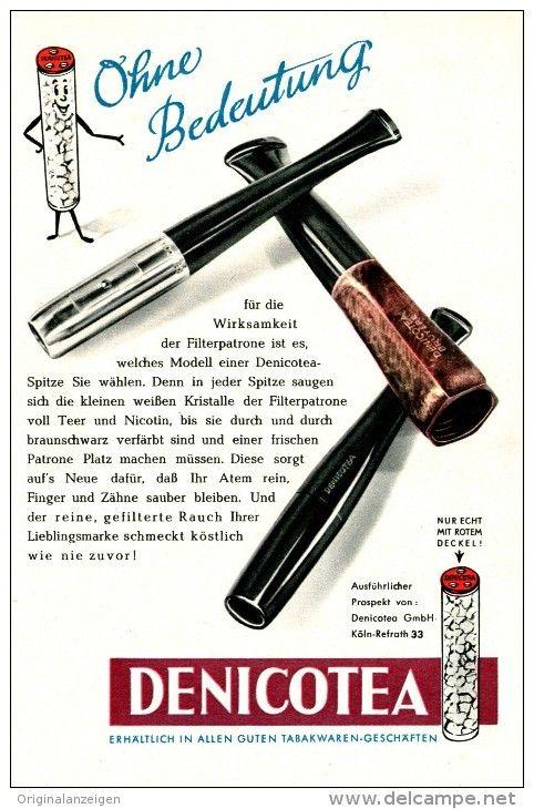 Original-Werbung/Inserat/ Anzeige 1954 -  DENICOTEA  ca. 180 x 120 mm