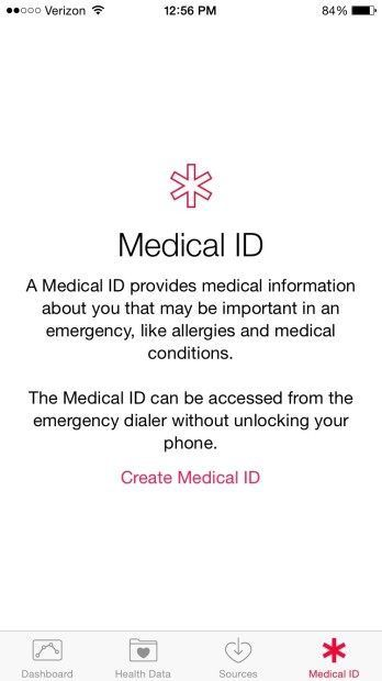How to Add Emergency Medical Info to Your iOS 8 Lock Screen  http://www.mazichands.com/add-emergency-medical-info-ios-8-lock-screen/
