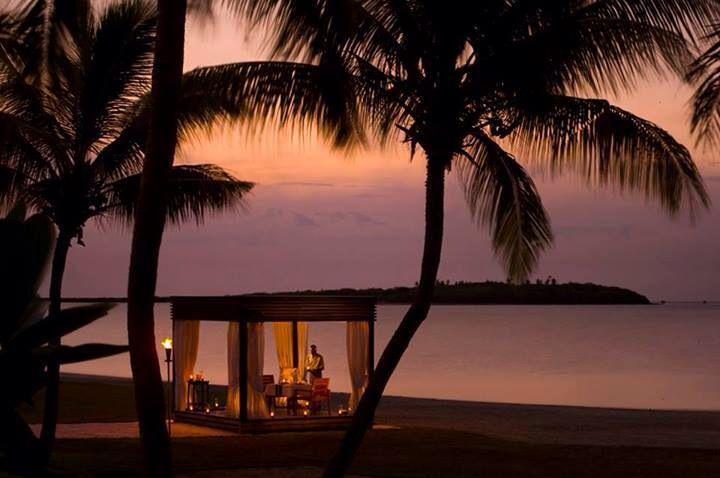 Stunning evening backdrop