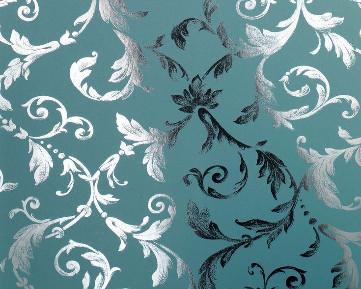 25+ best ideas about tapete grün on pinterest | grüne tapete ... - Wohnzimmer Grun Turkis