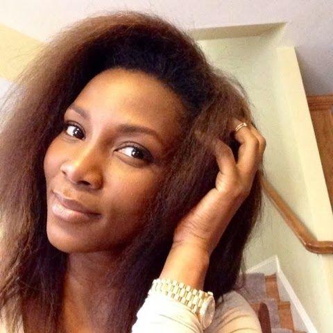 26 best african and caribbean personalities with natural hair genevieve nnaji pmusecretfo Gallery