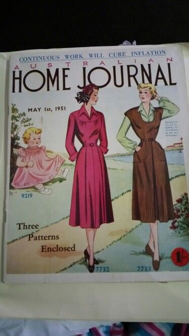 Australian home journal May 1951 cover