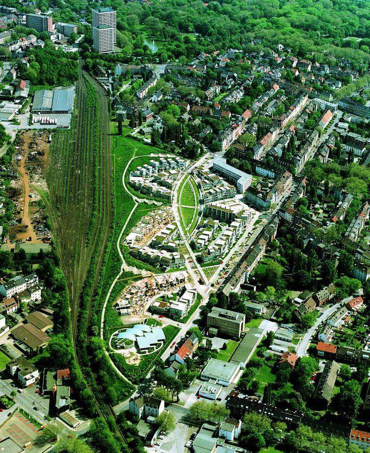 Wohnbebauung Küppersbuschgelände IBA Emscher Park Bild 2