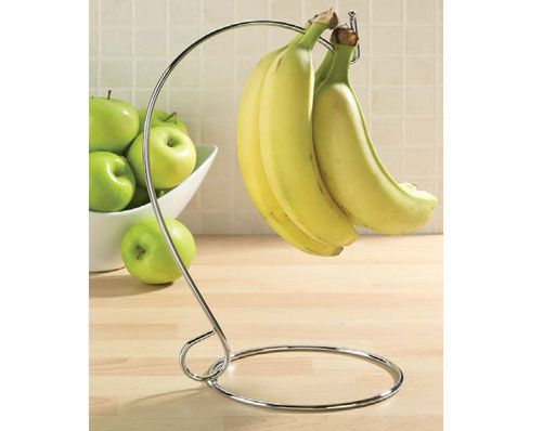Banana Storage Tree £7 Bananas give off gases that can affect other fruit - causing them to ripen too quickly. Well, now you can put a stop to this with the Banana Tree. Keeping them separate - your fruit will stay fresher for longer. Kleeneze FoodieFriday