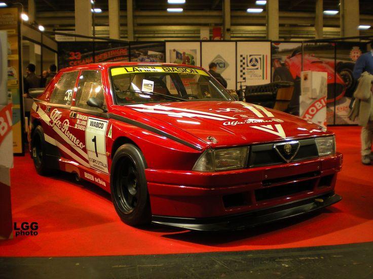 alfa romeo 75 turbo evoluzione imsa 39 88 race car and car racing pinterest cars sexy cars. Black Bedroom Furniture Sets. Home Design Ideas
