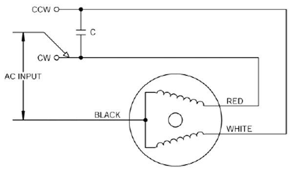 ac motor wiring
