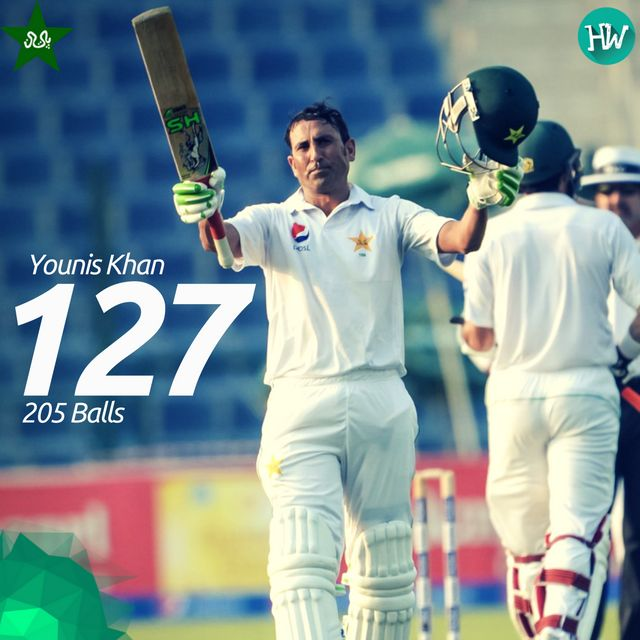 Another day, another century for Younis Khan. That too, just after recovering from an illness! #PAKvWI