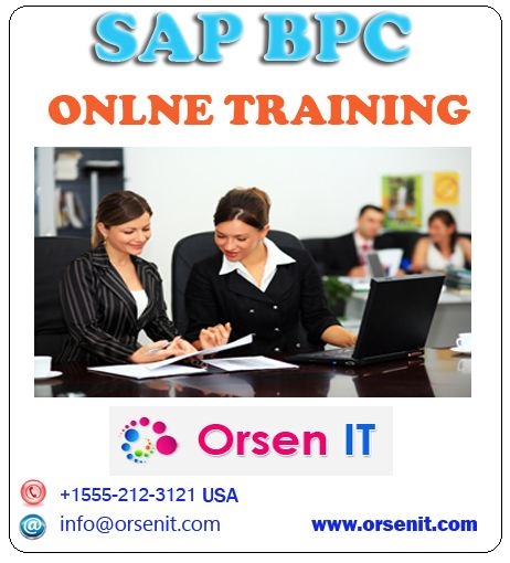 sap bpc online training,bpc training in usa
