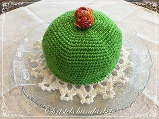 Christels handarbete: Virkad Princesstårta, Crochet Princess cake