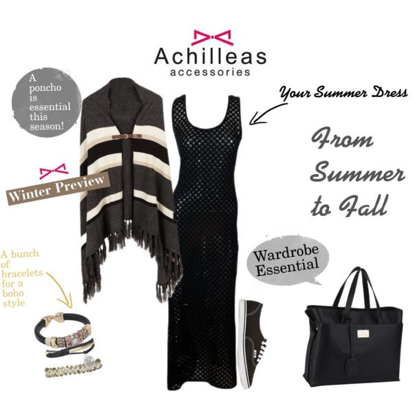 """Achilleas Accessories: From Summer to Fall""  Follow our new page on Polyvore!"