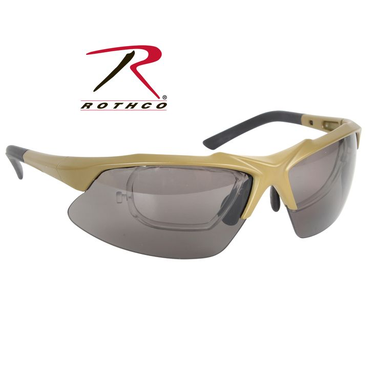 Rothco Coyote Brown Tactical Eyewear Kit