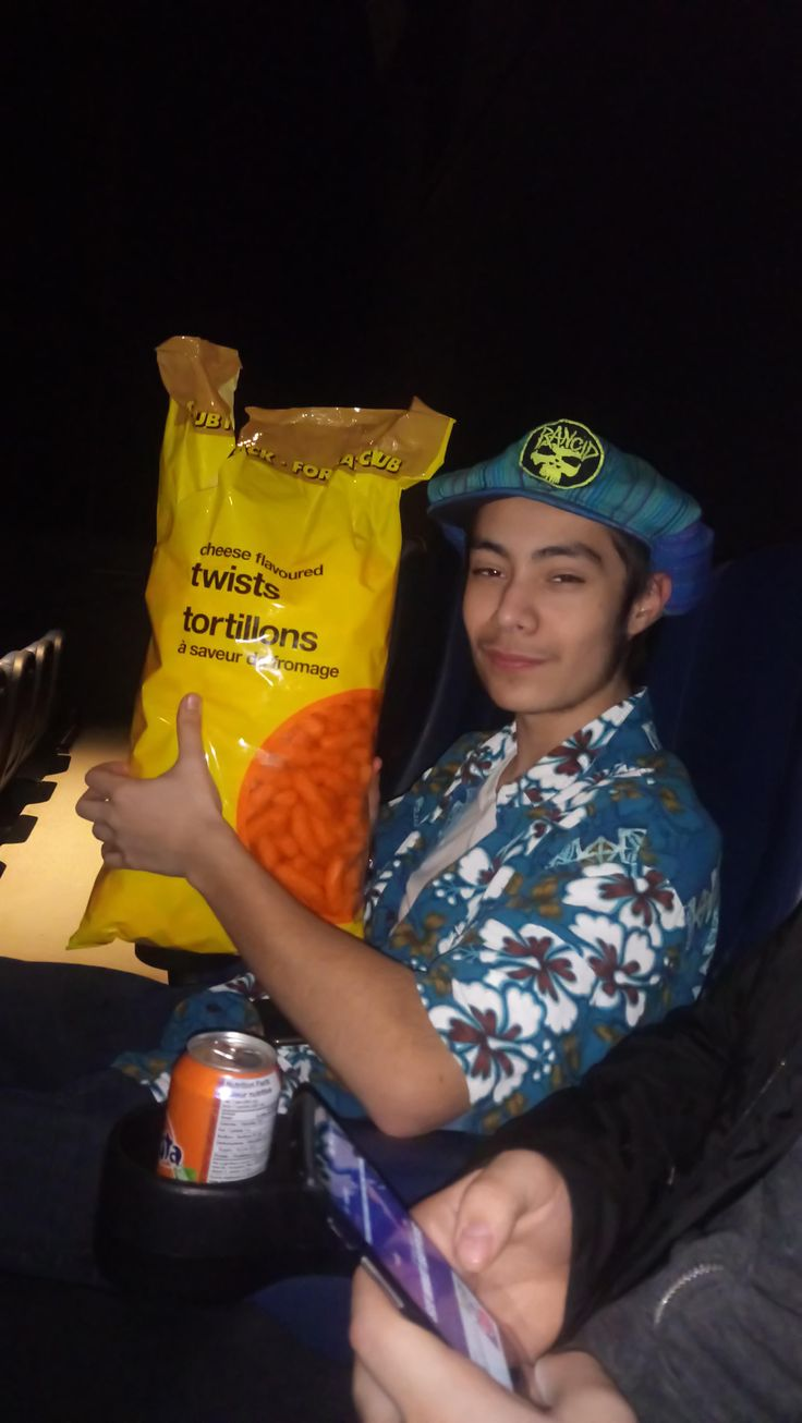 """My friend snuck in a """"torso sized"""" bag of cheetos into the movie theaters"""