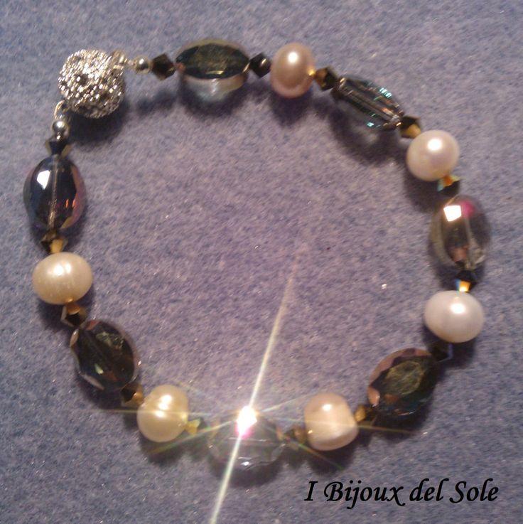Perle e cristalli Swarovski