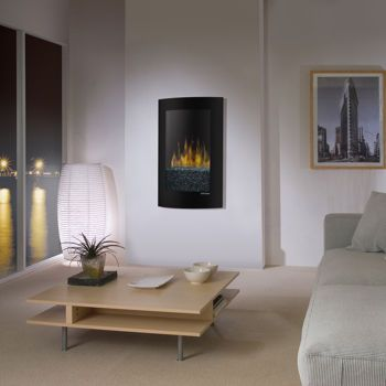 dimplex convex wall mount electric fireplace - Electric Fireplaces Clearance
