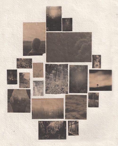 sidblack:  Coffee soaked inkjet prints on watercolour paper.