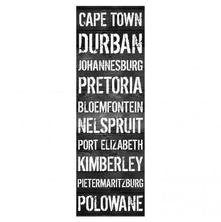 Medium City Names Canvas