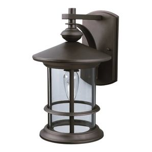 Oil Rubbed Bronze Down Outdoor Light Fixture Front Entry Outside Lights.  From Home Hardware So