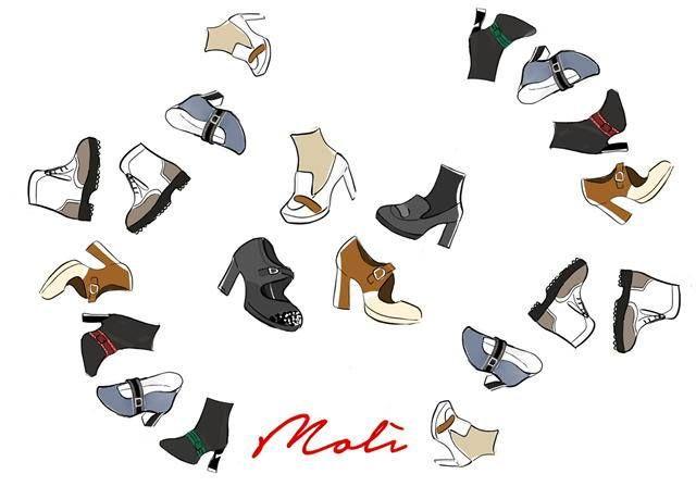 """12 modelli tutti da indossare. Molì Ivana Molinari, la nuova collezione di scarpe per una donna di """"successo""""! Presto online il nuovo sito www.molìivanamolinari.it #molì #molìshoes #molìofficial #shoesonline #mipiacemolì2016 #fallwinter1617 #ilovemylife #ilovemyshoes #scarpedonna"""