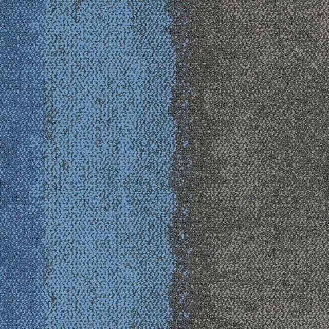 Interface Modular Carpet |Composure Edge,Sapphire/Diffuse