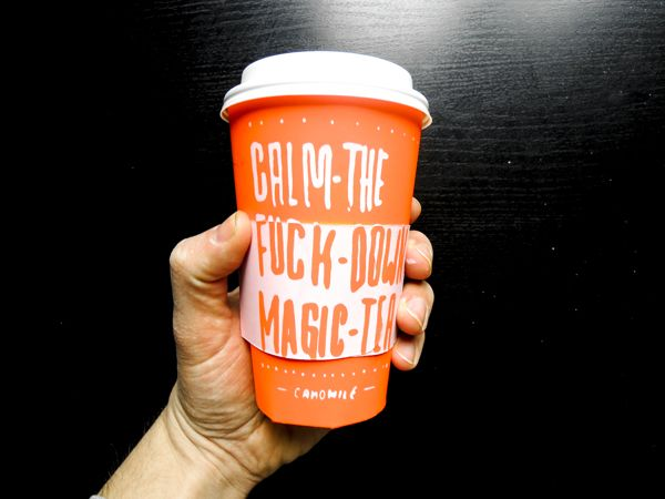 """""""Calm the Fuck Down Magic Tea"""" by Pascal Lefebvre"""