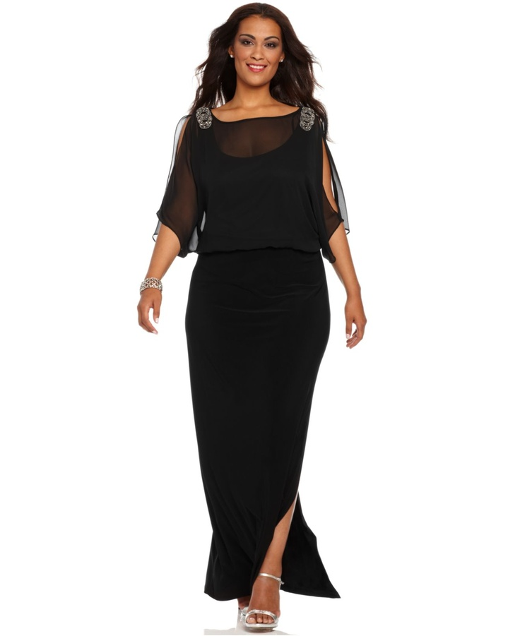 Macyu0026#39;S Plus Size Formal Wear - Eligent Prom Dresses