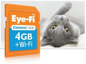 Eye-Fi 4GB Connect X2 Memory Card