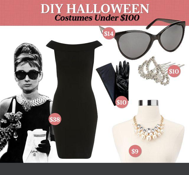 DIY Halloween Costumes Under $100: Holly Golightly