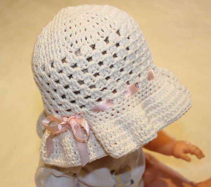 Cotton hat, 6-9 month  Love it