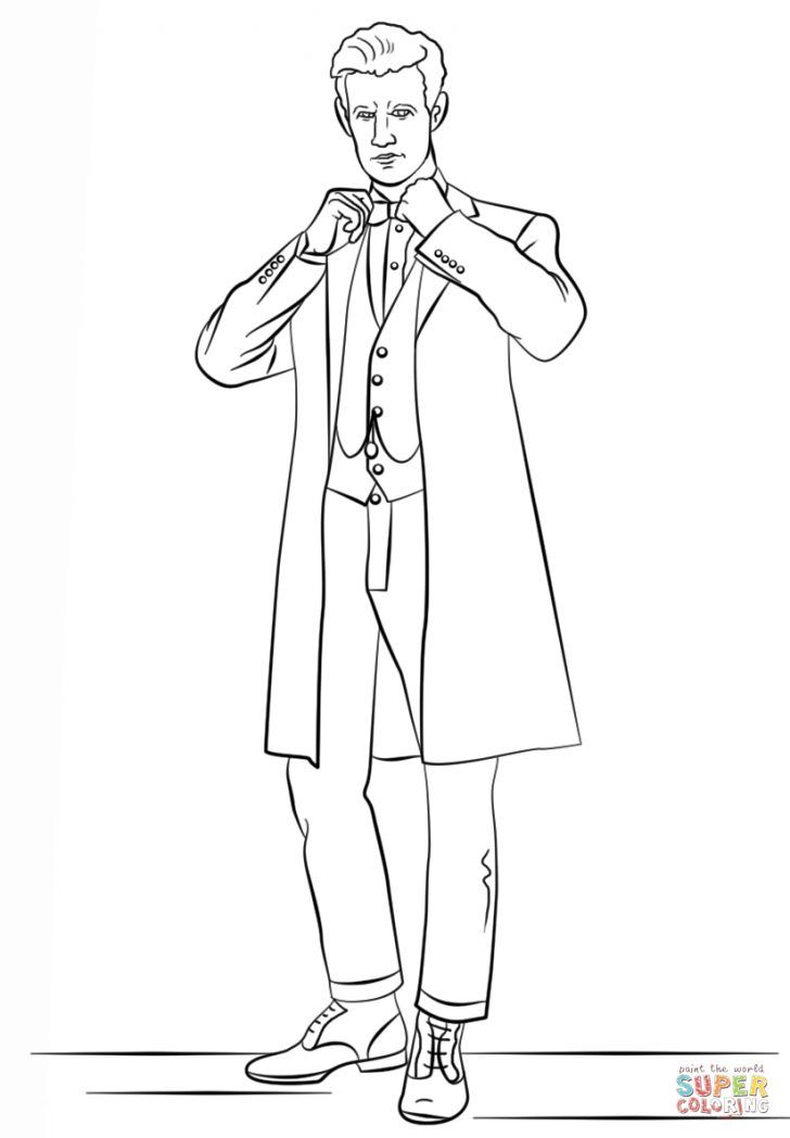 Doctor Who Coloring Pages Doctor Who Coloring Pages The Eleventh From Page Free Printable 824 Albanysinsanity Com In 2020 Doctor Who Coloring Pages Coloring Books