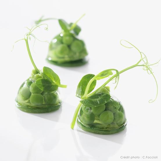Lenôtre - Le petit pois et la menthe green food amazing idea for starters hors d'heuvres
