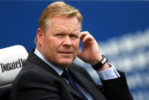 Breaking: Ronald Koeman New Netherland Head Coach