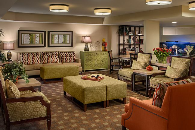 Avistalobbyafter Senior Living Design Pinterest Dining Rooms Blog And The Three Rs