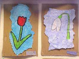 Make spring flowers