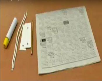 lat Dan Bahan Untuk membuat Tas Kertas