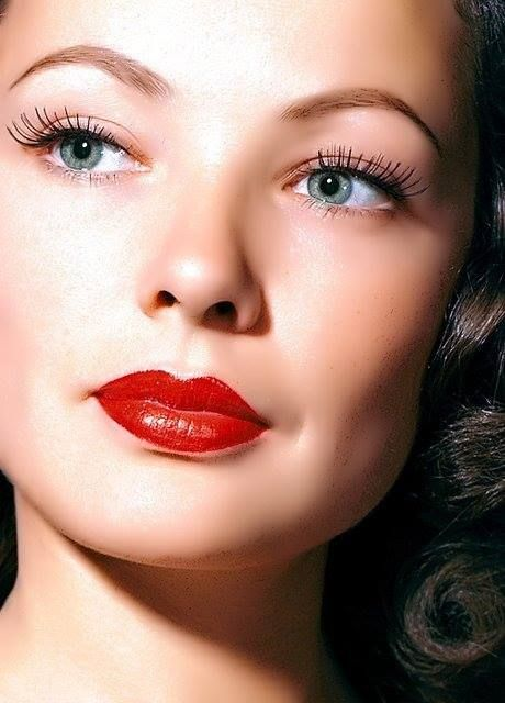 Gene Tierney. The perfect face..
