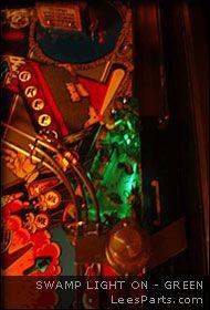 Swamp Light for Addams Family Pinball Machine