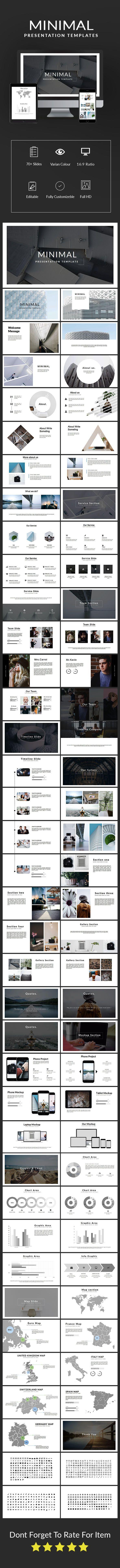 Minimal #Presentation Template - #Keynote #Templates Presentation Templates Download here: https://graphicriver.net/item/minimal-presentation-template/19334239?ref=alena994