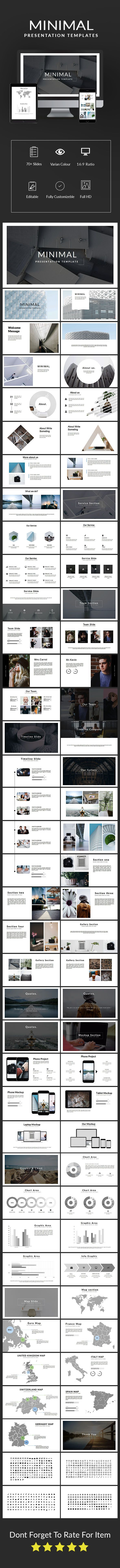Minimal #Presentation Template - #Keynote #Templates Presentation Templates Download here: https://graphicriver.net/item/minimal-presentation-template/19334239?ref=alena994