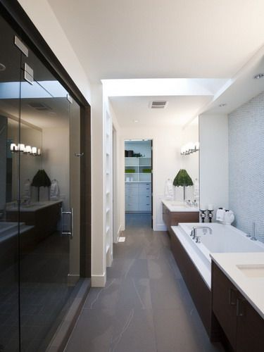 long narrow bathroom is a design challenge for even the most seasoned professional the trick is to use design principles to create the illusion of space - Bathroom Ideas Long Narrow Space