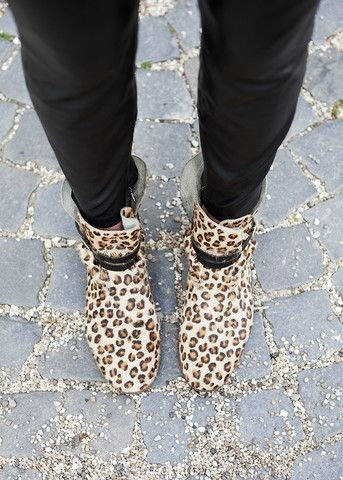 Leopard Look – Bottines
