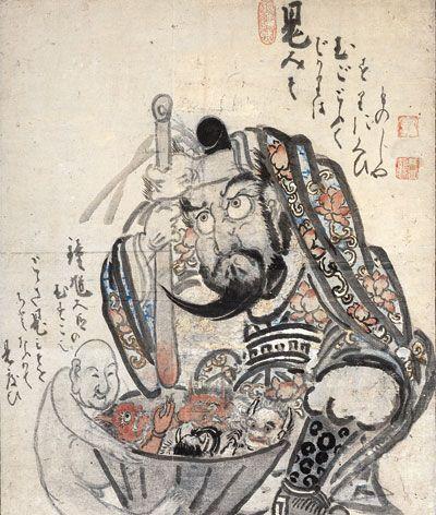 Shoki demon miso