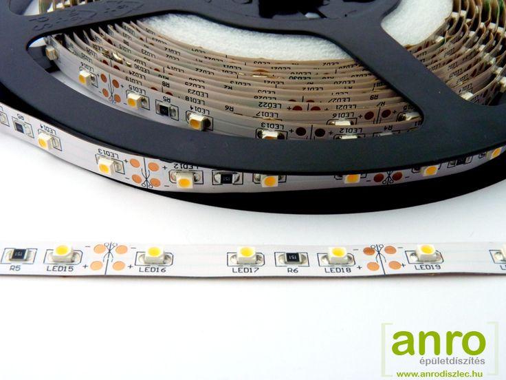 A legrégebbi típusú LED szalagunkat már több, mint 5 éve forgalmazzuk.  Ez a 3528-060 LED szalag, amely a legtöbb hangulatvilágításhoz elegendő fényerőt nyújt!