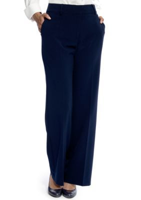 Kim Rogers Women's Perfect Fit No Gap Trouser - Blue - 14 Average
