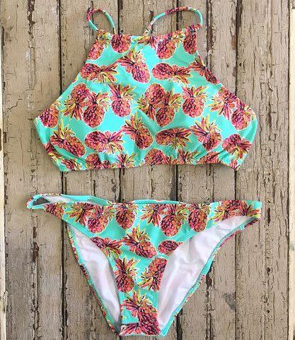 Pineapple Bathing Suit Top Sunshine☼ Pinterest