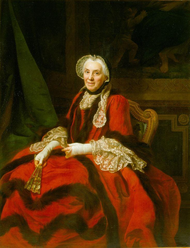 Portrait de Madame de flandre de Brunville  Alexander Roslin (1718–1793)