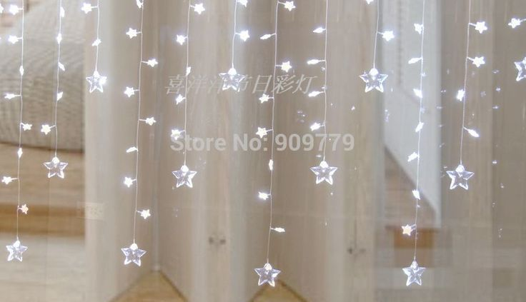 Goedkope Pendente Luminaria 60 LED Curtain Fairy Chandelier Luminarias Christmas Decoration Navidad Lamp 1M Star String Lights Lighting, koop Kwaliteit led slinger op rechtstreeks van Leveranciers van China:              product option list         note : the following information is for reference only . please contact t