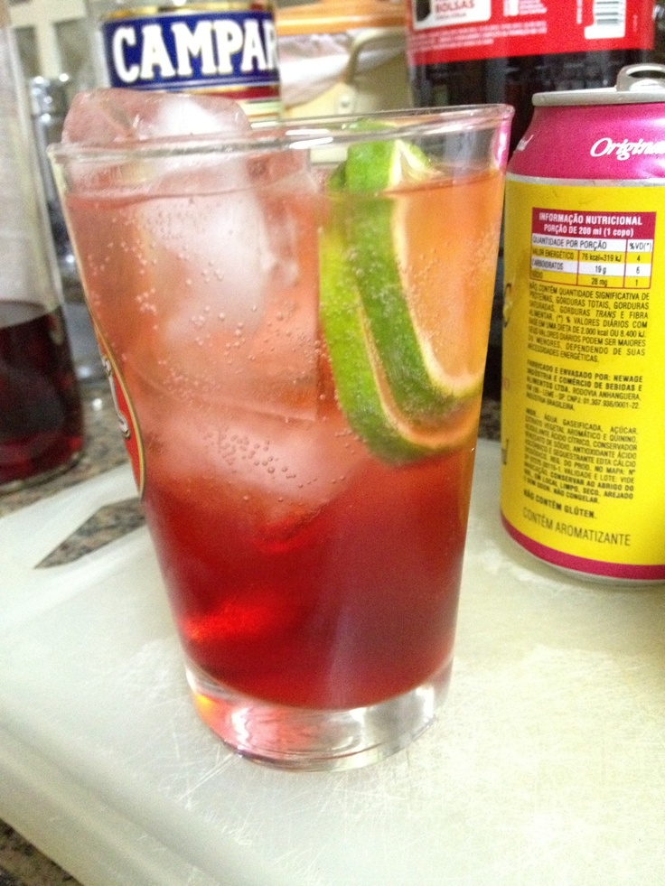 How to Make Campari Drink With Tonic