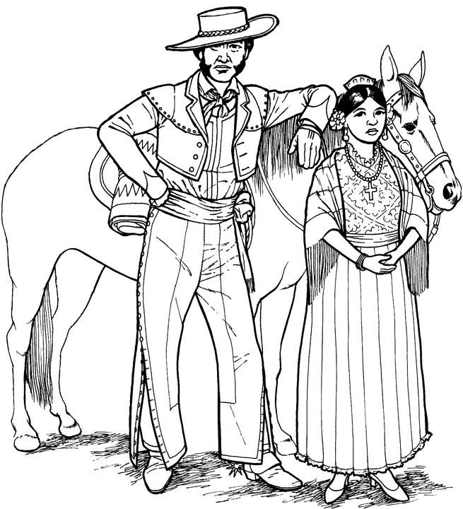 Southwestern & Native American Coloring Page   Spanish 1   Pinterest ...